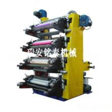 供应直立四色塑料薄膜柔版印刷机
