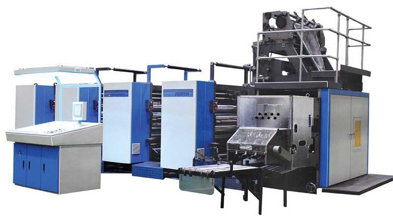 供应卷筒纸平版书刊印刷机