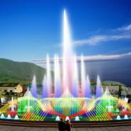 贵州喷泉图片
