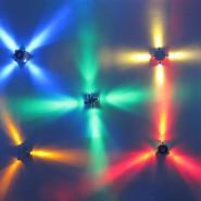 大功率LED十字星光灯图片