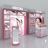 ETUDE韩国爱丽专卖店展柜设计制作