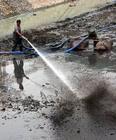 黄岛有泥浆清理图片