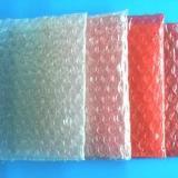 供应石碣红色双面防静电汽泡袋_气泡膜_汽垫膜_华胜气泡袋生产厂家!