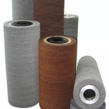 供应尼尼龙拉丝辊/百洁布辊/无纺布棍/刷辊/不织布辊刷批发