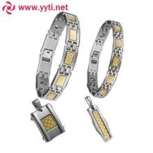 供应情侣金镇手链,套装情侣金镇手链,金镇饰品手链,金属金镇手链。