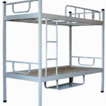 供应学生床上下床职工床宿舍床公寓床床的价格钢管床铁架床批发