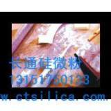 供应超细硅微粉石英粉(硅胶用硅微粉