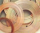 紫铜管厂供应空调紫铜盘管图片