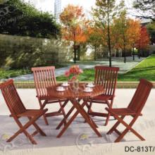 供应时尚山樟木桌椅DC813/户外家具/休闲小家具/休闲桌椅
