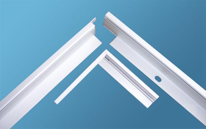 供应东莞深圳数码铝相框型材厂广告边框