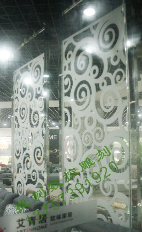 供应J4A雕花板/PVC镂空板/背景墙屏风