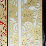 J7D雕花板/密度板/背景墙隔断图片