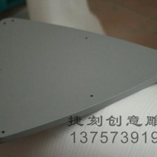 J26展架底座/层板/密度板银闪烤漆图片