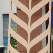 6C雕花板/镂空板背景墙隔断屏风图片