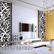 J34雕花板/PVC镂空板/背景墙隔断图片