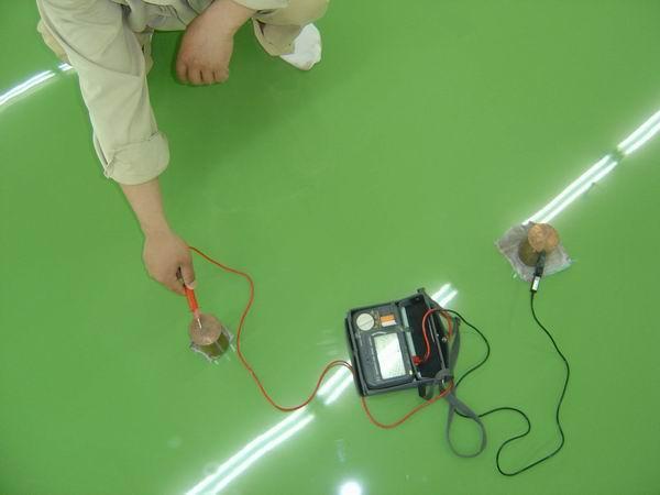 供应滨州防静电自流平地坪漆,滨州电子计算机防静电地坪,电子厂地坪