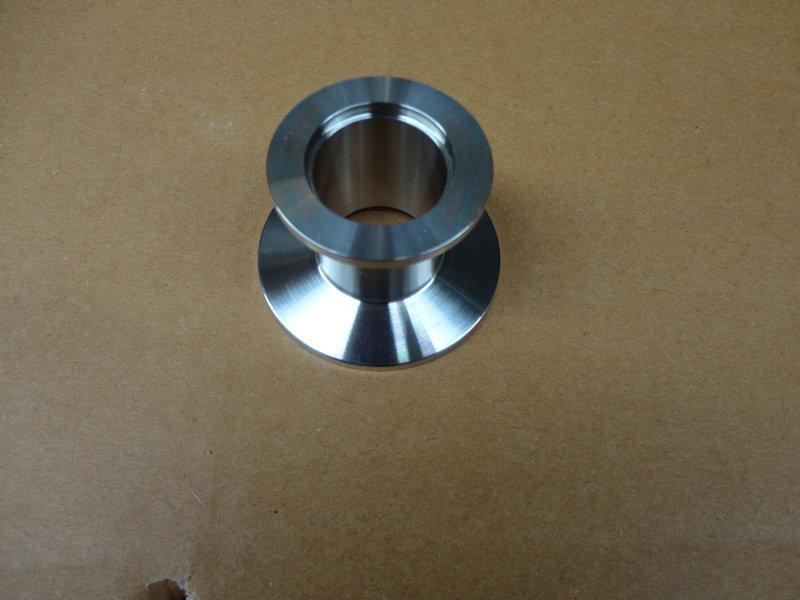 供应CNC数控加工304真空转接头,不锈钢真空转接头