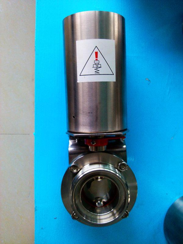 供应卫生级气动蝶阀厂家直销,优质供应卫生级气动蝶阀