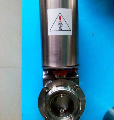 卫生级气动蝶阀图片/卫生级气动蝶阀样板图 (1)