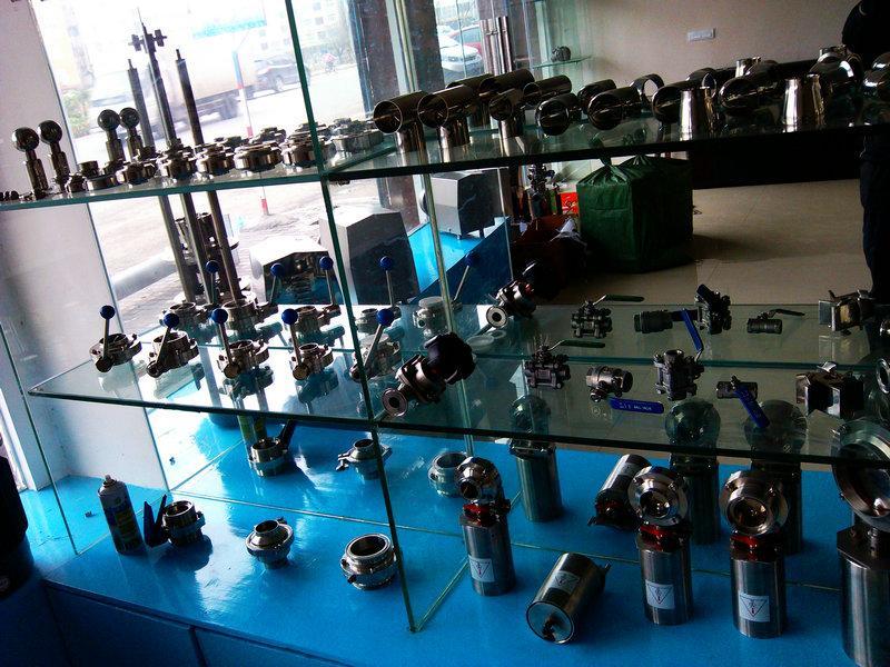 供应卫生级气动蝶阀批发价格,达尔捷专业生产卫生级蝶阀