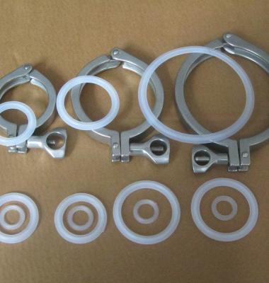 不锈钢铸造卡箍图片/不锈钢铸造卡箍样板图 (3)