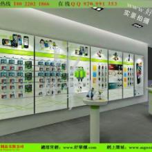 供应电信手机店铺装修,电信展示柜定做图片