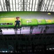 体育场馆全彩LED显示屏图片