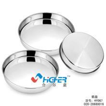 供应HY067不锈钢蛋糕盘 多用盘 糖果盘批发