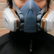 石家庄3M防毒气全面罩图片
