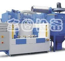 供应广东转盘式自动喷砂机 不粘锅喷砂加工专用设备批发
