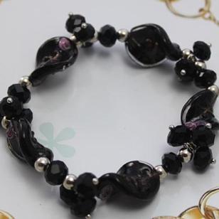 明星款玛瑙琉璃手链水晶手链手镯图片
