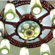 景德镇陶瓷吸顶灯图片