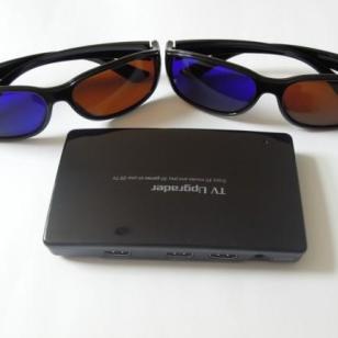 TVU-8003D转换器升级宝盒看3D图片