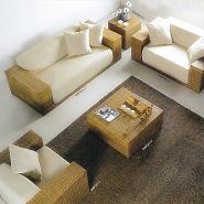 无锡藤椅藤沙发梳妆椅藤家具厂家图片