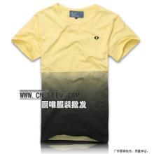 便宜供应100000件男士T恤批发厂家大量男士T恤清仓批发纯棉T恤批发