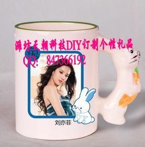 潍坊热转印印衣服杯子上印照片图片图片