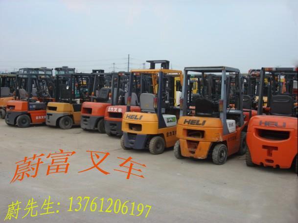 上海叉车工业车辆出售-品牌二手叉车合力叉车3吨柴油车转让图片