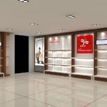 男鞋展柜、男鞋货架、皮鞋展柜、鞋展柜厂、广州专业男鞋展示柜制作图片