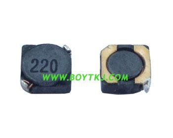 供应绕线电感3D28-4R7深圳图片