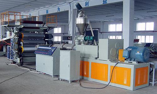 上海PE片材生产线PP片材设备
