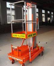 供应洛阳液压升降机焦作铝合金升降机,液压升降机,单桅柱升降机图片