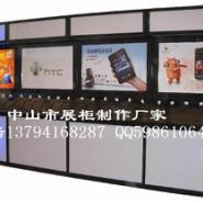 中山真机体验柜/摘机柜/开放式展柜图片