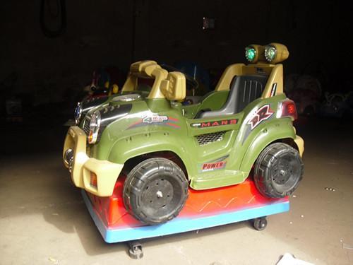 供应北京怀来电动玩具喜羊羊系列摇摆机摇摆式摩托车摇摆战车摇摆式机器人