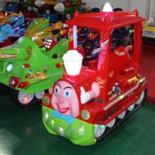 供应洛阳带蓬托马斯小火车投币摇摇机儿童游戏机拍拍乐弹珠机动物滚滚球