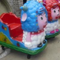 供应盐城建湖县溪口喜羊羊投币机生产美羊羊玩具灰太狼摇摇车摇摆式警车