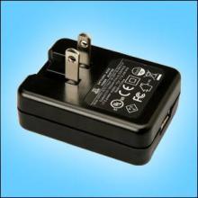 供应可折叠插脚USB充电器电源适配器图片