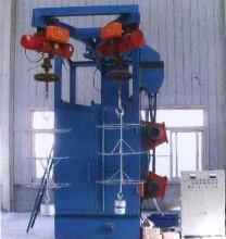 供應鋼制家具表面拋丸除銹清理機械/鋼制家具噴丸打砂清理設備/噴砂圖片