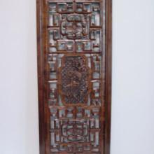 供应梅兰竹菊花板木雕制品