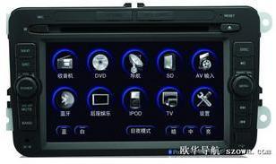 欧华大众开迪专用DVD导航图片