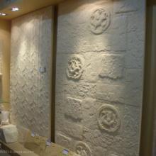 供应天然砂岩电视背景墙壁画图片